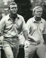 Golf Jack Nicklaus and Arnold Palmer Photo Picture Print