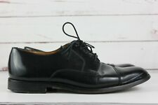 Cole Haan City Mens Size 10 Black Patent Leather Oxford Dress Shoes Lace Up