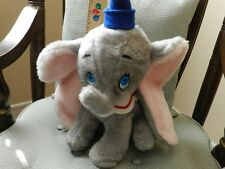 "Vintage Walt Disney Dumbo The Elephant Plush 13"" Stuffed Toy"
