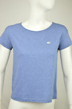 SALE LACOSTE DEVANLAY NWD WOMENS BLUE 100% COTTON TEE SHIRT SIZE: XS