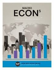 ECON MACRO (with ECON MACRO Online, 1 term (6 months) Printed Access Card) (New