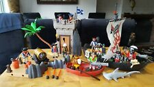 Playmobil Pirate Ship & Soldiers Watch Tower with Extra's  #5919.....