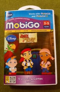 """VTech Touch Learning System, """"Jake and the Never Land Pirates"""" Ages: 3-5 Years"""