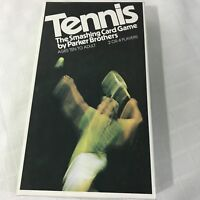 Parker Brothers Tennis Smashing Card Game Vintage 1975