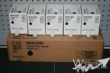 5 Genuine Ricoh HQ-40 Priport Black Ink DX DX4542 DX4545 JP JP4500 817225 HQ40