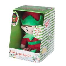 New Super Soft Glow ELF Teddy Colour Changing For Kids Nightlight Christmas Gift