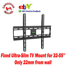 "32"" to 55"" LCD PLASMA LED TV FIXED WALL MOUNT BRACKET 36,37,39,40,41,42,46,47,50"