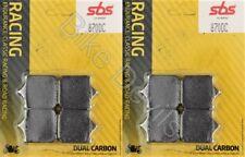 BMW S1000RR S1000R Front Brake Pads 2009-2018 Race Dual Carbon SBS 870 DC Track