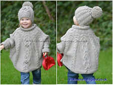 KINGCOLE 4154 BABY DK KNITTING PATTERN  12-22 IN not the finished garments