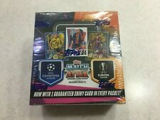 2020-21 Topps Match Attax UEFA Champions League Soccer 30 Pack Box Sealed New