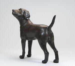 Labrador Chocolate Brown  Solid Bronze  Ltd Edition Certificate Authenticity