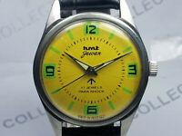 Vintage Hmt Jawan Mechanical Hand Winding Movement Mens Wrist Watch OG425 Z