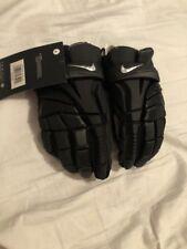 """Nike Vapor Elite Lacrosse Gloves 2018 Men's 12"""" Ge Ve8F 02 Black"""