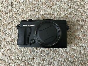 Good Condition Olympus Stylus XZ-2 12.0MP Digital Camera - Black