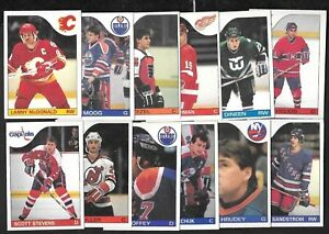 1985-86 OPC 85-86 O PEE CHEE NHL HOCKEY CARD 1-132 SEE LIST