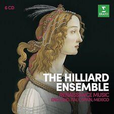 THE HILLIARD ENSEMBLE - RENAISSANCE MUSIC COLLECTOR'S EDITION 6 CD NEU GASTOLDI