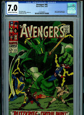 Avengers #45 CGC 7.0 FN/VF 1967 Silver Age Marvel Comics B4