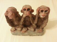 See No Evil, Hear No Evil, Speak No Evil Monkeys, Figurine Statue