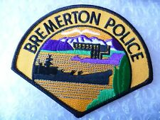 Patch- Bremerton WA US Police Patch (NEW, apx. 95x120 mm)
