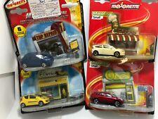 Majorette Majocity small set 4 pack Lexus Peugeot Citroen Model Diecast