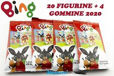 DIRAMIX RACCOLTA ALBUM BING 4 BUSTINE FIGURINE STICKER + 4 GOMMINE NOVITA' 2020