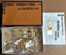 ADV AZIMUT PRODUCTION - VW KAFER TYP87 - 1/35 RESIN KIT