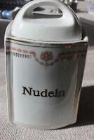 Nudelvorratsdose aus Porzellan etwa 1920