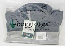 Frogg Toggs RiverToadz Jacket Grey Large New RT62140-777LG Rain Jacket New