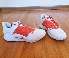 Nike Hyperdunk Low X TB White/ Orange New Sz 13 AT3867-113