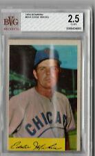 1954 Bowman Eddie Miksis #61 BVG Beckett 2.5 P376