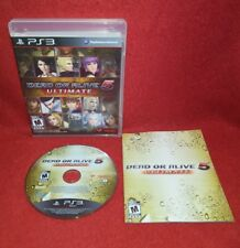 Dead Or Alive 5 Ultimate (Sony Playstation 3 PS3, 2013)