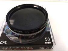 Zeikos 58mm Circular Polarizer CPL f/Canon T6i T6s T5i T4 70D 80D 6D 7D 18-55mm*