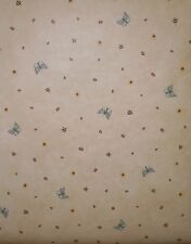 Debbie Mum Insects & Sunflower on Beige Wallpaper by Imperial  DM7133
