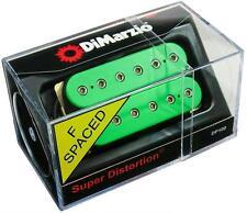 DIMARZIO DP100 Super Distortion Humbucker Guitar Pickup GREEN, F-Spaced