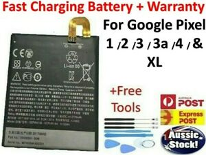 Replacement Battery + Tools For Google Pixel  1 / XL / 2 2 XL 3 / 3 XL 3A 4 XL