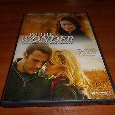 To The Wonder (DVD Widescreen 2012) Ben Affleck,Rachel McAdams Used