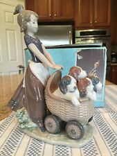 Lladro 5364 Litter of Fun w/ Original Box - Mint Condition