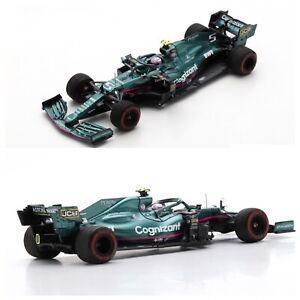 1/43 Spark Aston Martin AMR21 Cognizant N°5 F1 Team GP Bahrain Sebastian Vettel