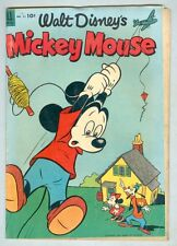 Mickey Mouse #31 June 1953 G/VG The Spirited Drizzlepuss