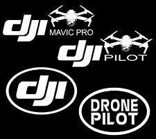 DJI Mavic Pro Pilot Drone Decal Stickers COMBO BUNDLE -- Free Ship -- 4 Decals