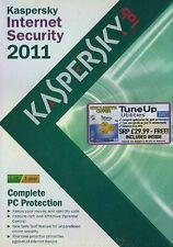 KASPERSKY INTERNET SECURITY 2011 3 USER / TUNE UP UTILITIES