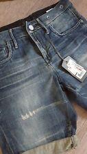 ❤ G-STAR Lock Short Femmes Bermuda Pantalon Court Jeans Taille 27 ❤ NEUF