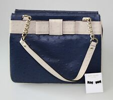 ORIGINAL KATE SPADE NEW YORK Small Bag new tag blue&cream Earrings&Gift&Dust bag