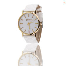 Fashion Ladies Womens Watches Geneva Faux Leather Analog Quartz Wrist Watch