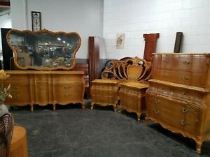 CARMEL COLORED BEDROOM SET FRENCH PROVINCIAL STYLE | UNION FURNITURE COMPANY