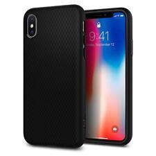 Spigen iPhone X Case Liquid Air Matte Black