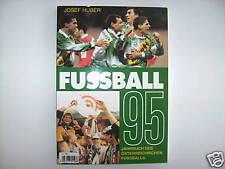 JAHRBUCH DES ÖSTERREICHISCHEN FUSSBALL 1995 JOSEF HUBER