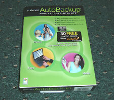 Memeo AutoBackup Protect Your Digital Life for XP/2000 - 3-User Pack - NEW