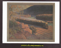 WESTWARD BOUND IN MOHAWK VALLEY Twentieth Century Limited (1925) Train POSTCARD