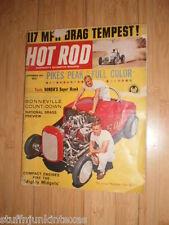 Lot of 7 Vintage Hot Rod Magazine / Rod & Custum / Popular Hot Rodding